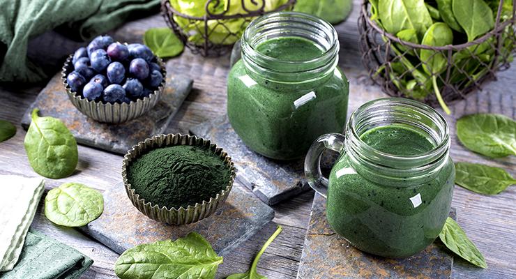青汁の粉末と栄養