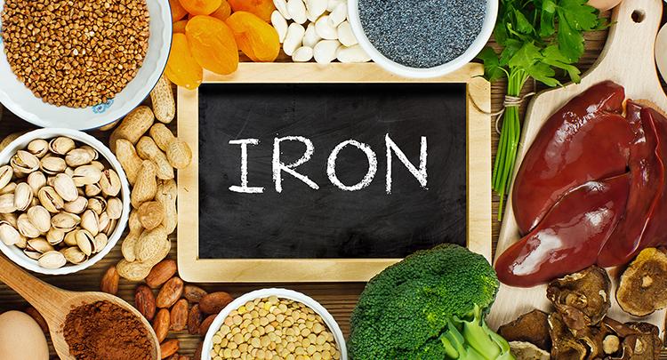 鉄分を含む食材